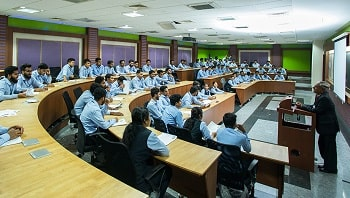 GIIMS Institute of Logistics & Supply Chain classroom